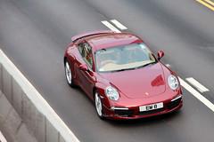 Dark Red Porsche 911 991 @ Admiralty, Hong Kong (Kevin Ho  Photography) Tags: red hongkong 911 turbo porsche rs gt2 carrera admiralty 996 991 gt3 993 997 964 cardino worldcars em8