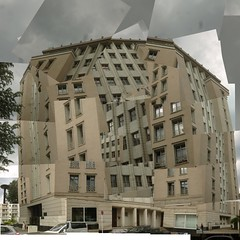gwb | dinamismo di un palazzo (stoha) Tags: berlin casa haus stephan friedrichshain gwb soh berlino futurismo henselmann berlinfriedrichshain guessedberlin futurismus stoha hochhausanderweberwiese gwbbergfels