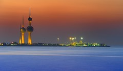 kuwait tower summer sunset (mohamed al-nasser) Tags: sunset kuwait q8 kuwaittower