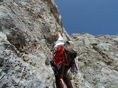 Alpinismo Sibillini - Spigolo delle Volpi