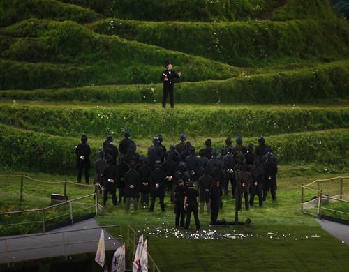 Kenneth Branagh as Isambard Kingdom Brunel - London 2012 Opening Ceremony