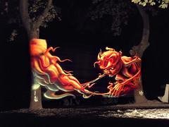 Smonster (Fat Heat .hu) Tags: monster graffiti smoke heat tihany cfs fatheat montana94 mtn94 cellograff