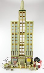 2006. Marx Skyscraper Building Series 500 Playset