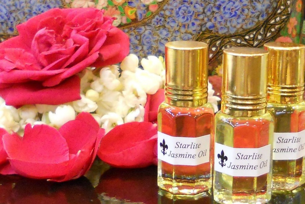Pure Jasmine Oil Absolute Perfume - All Natura...