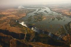 Rip (aaafotos) Tags: sky eye water birds waterfall view victoria falls helicopter biggest widest