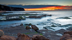 On High (James.Breeze) Tags: ocean morning sea seascape beach water sunrise landscape sand rocks raw cloudy sydney australia saltwater northernbeaches beachsunrise ef1740mmf4lusm turimetta jamesbreeze