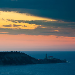 Piran (IgorK54) Tags: landscape evening piran igork54