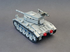 Lego ww2 -M24 Chaffee Light tank- (=DoNe=) Tags: world light 2 by viktor war tank lego custom done chaffee m24