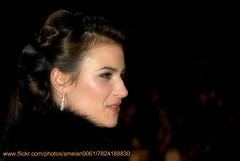 Camilla Arfwedson (iron_smyth48) Tags: red portrait woman white celebrity film face female hair carpet star glamour eyes dress event actress earrings premiere celeb