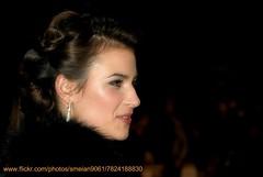 Camilla Arfwedson (iron_smyth48) Tags: red portrait woman white celebrity film face female hair carpet star glamour eyes dress event actress earrings premiere celeb