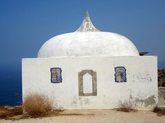 Santuário de Nossa Senhora do Cabo Espichel (Rubem Jr) Tags: white building art portugal architecture europe arte cape sanctuary espichel 5photosaday