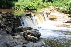 When The Sun Came Out: Wissahickon Creek Park Magarge Dam Falls, Chestnut Hill, Philadelphia (blackunigryphon) Tags: summer sun philadelphia day july sunny waterfalls wissahickon humidity humid partlycloudy chestnuthill partlysunny wissahickoncreekpark highhumidity magargedamfalls