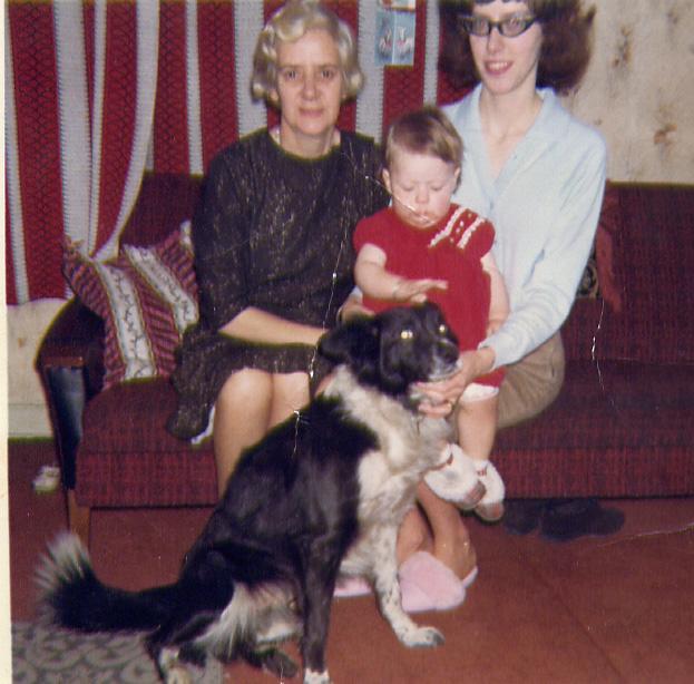 Crissie and  Christine 1960s