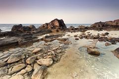 Punta de N'amer (Juanjo Cuevas) Tags: sea beach marina de landscape mar marine playa paisaje punta mallorca rocas majorca namer
