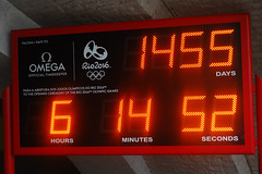 Countdown to the Rio games (philk_56) Tags: brazil london clock rio olympics countdown 2012 2016