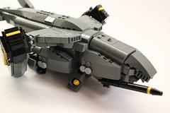 DARKWATER Vulture 3 (✠Andreas) Tags: lego military vulture darkwater vtol gunship dropship thepurge thepurgedarkwater darkwaterdropship heavyvtol orbitaldropship