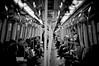 Cells (MMortAH) Tags: china bw hk white black monochrome train hongkong 50mm nikon 14 nikkor d90