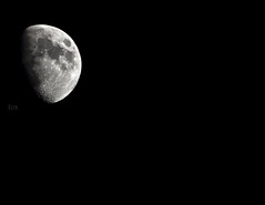 THE MOON  (! FOX) Tags: moon canon eos fox 7d ahmad ahmed the   a7mad a7med            al5ain 5ain