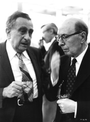 Edward Teller and Eugene Wigner (llnl photos) Tags: starwars teller nuclearbomb manhattanproject llnl manhattenproject hydrogenbomb edwardteller lawrencelivermore eugenewigner