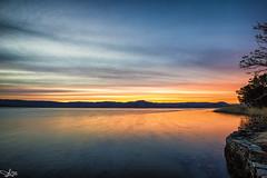 Colour Starting (e0nn) Tags: 1017mm da1017mm steveselbyphotography steveselby pentax pentaxk3 lightroom nikfilters sunset windang lakeillawarra lake landscape wollongong west