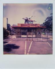 Exploring in Victoria #sx70 #polaroid #noir #cinema #drivein #impossible #film #australia #victoria #starwars (yellowplease) Tags: australia noir drivein victoria sx70 cinema impossible polaroid starwars film