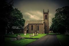 The Curchyard (Charlie Little) Tags: cumbria carlisle church graveyard grave stone sony a6000 cemetery