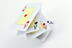 Ases (Explore, July 25th, 2016) (osruha) Tags: as ace pquer poker cartas cartes cards composicin composici composition color colour nikon d750 flickr