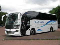 JR65AAA (preselected) Tags: bus coach luss volvo b11r sunsunsengui aaa kirknewton