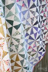 Prism Parkway in Saturday Morning (Sassafras Lane Designs) Tags: sassafras lane designs prism parkway quilt quilting pattern saturday morning fabric moda triangles paperpiecing