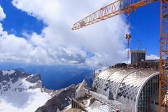 Zugspitze, high altitude construction site (RunningRalph) Tags: deutschland duitsland germany zugspitze garmischpartenkirchen bayern