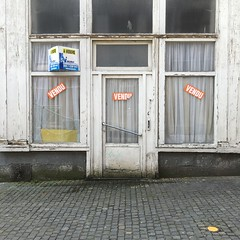 Relics of the past (Forsaken Beauty / The Paradox of Human Decadence!) Tags: vergeten verlaten oublie forgotten iphone6s vintage old abandoned enseignes signs relicas reliques relics vitrines facades europe storefronts devantures