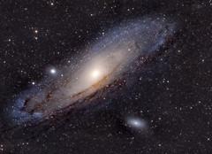 Andromeda Galaxy (M31) (Waheed Akhtar Photography) Tags: deepsky deepskyobjects andromeda andromedagalaxy galaxy space astrophotography astro astronomy photography telescope refractor skywatcher dubai mydubai uae exploreuae unitedarabemirates night stars sky nightsky nightstars waheedakhtar sony sonya7s astrometrydotnet:id=nova1715083 astrometrydotnet:status=solved