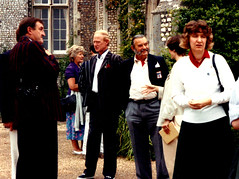 Tony Marshall, Shirley Purves, Roger Matthews, Vosper Arthur, Jane Sayle (photo copyright Jean Upton)