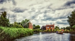 The Falcon (DeanoNC) Tags: falcon hunsettmill norfolk stalham riverant