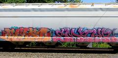 sizeo - empyr (timetomakethepasta) Tags: sizeo empyr omb freight train graffiti hopper