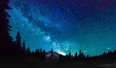 Summer Starlight (Tom Fenske Photography) Tags: milkyway stars astrophotography night sky mountain
