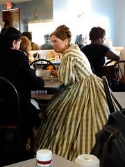 Mary and Abe (e r j k . a m e r j k a) Tags: pennsylvania adams gettysburg diner livinghistory lincoln us30 lincolnhighway erjkprunczyk