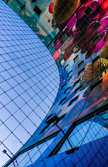 Markthal colors (jefvandenhoute) Tags: netherlands nederland photoshopcs6 sony rx10 light lines shapes