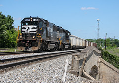 Midday SD60 (weshendrix) Tags: norfolk southern ns macon district junction georgia ga train railfan railroad rr freight local emd sd60 standard cab diesel locomotive engine outdoor