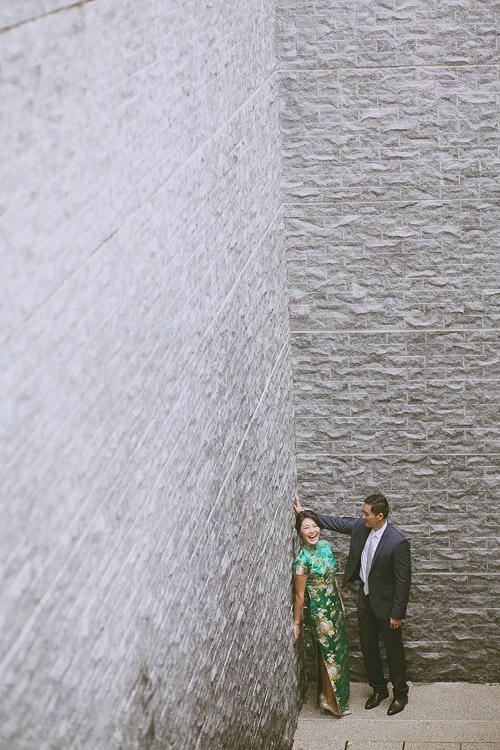 婚禮攝影-壁咚