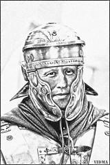 Roman Soldier #5 (vidmantasmarknas) Tags: soldier helmet empire army roman legionary