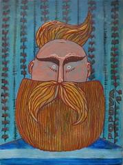 DSC_0780 (Martusya) Tags: works beard acryl man