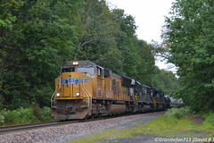UP 5230 EMD SD70M (37T) (Trucks, Buses, & Trains by granitefan713) Tags: train freighttrain mixedfreight manifest ns norfolksouthern locomotive railroad railfan sunburyline nssunburyline foreignpower up unionpacific emd emdsd70m sd70m electro motive