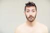 (Damien Cox) Tags: selfportrait autorretrato portrait self i ego myself me moi beard stubble scruff nikon male man masculine damiencoxcouk damiencox face eyes sweaty tired hot fedup ears uk
