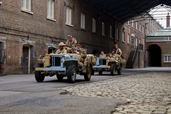 'LRDG - Dockyard Patrol' (andrew_@oxford) Tags: chatham historic dockyard salute 1940s wartime ww2 vintage reenactors long range desert group lrdg