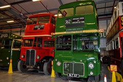 RM2 SLT57 (PD3.) Tags: rm2 rm 2 slt57 slt 57 aec routemaster country bus buses psv pcv preserved vintage london transport lt depot museum acton way