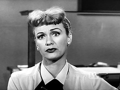 """Eve Arden in """"Our Miss Brooks."""" (stalnakerjack) Tags:"""