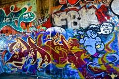 abandoned, bayshore roundhouse, burned out, graffiti, railroad, Southern Pacific (David McSpadden) Tags: bayshoreroundhouse railroad southernpacific graffiti