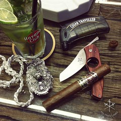 We got you covered! Everything you'd need in #InterTabac is on @cigarconsultinternational booth (5.A08) : @lesfineslames #cigarknife, @cigartravellerldt lighters, @jassumkral_ cigars and #mojitos! Pay us a visit, let's have a drink and a cigar together :t (steven_cigale) Tags: cigar cigare cigarlife cigaraficionado cigarporn cigars cigares cigarlover amateurdecigare     zigarre cigarsmoking luxury cigarsmokingmodel p1p2c cigarsmoker cigarians botl aficionado cigaroftheday