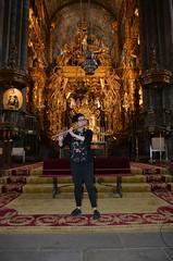 Irene Parada, flautista en la Catedral ensayo